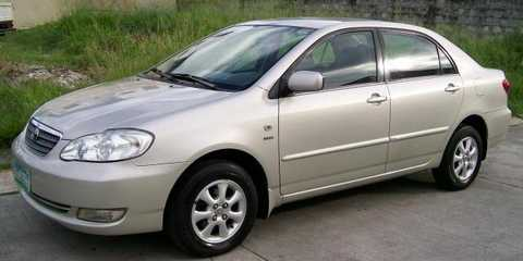 Toyota Corolla Altis 2002-2003