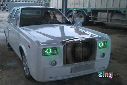 Xe Rolls-Royce Phantom tự chế