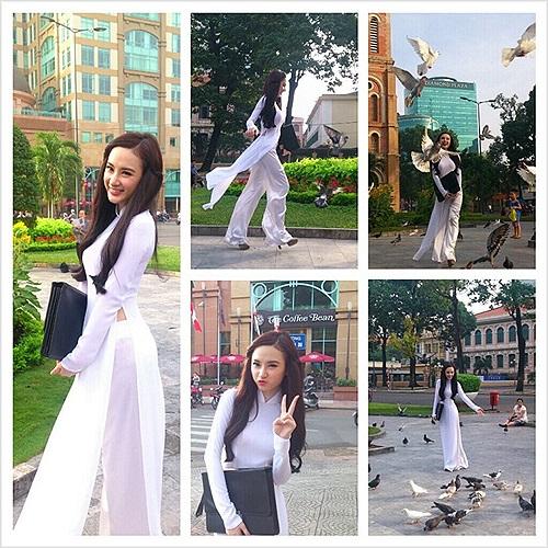 Angela Phương Trinh và những bức ảnh 'đúng tuổi'.