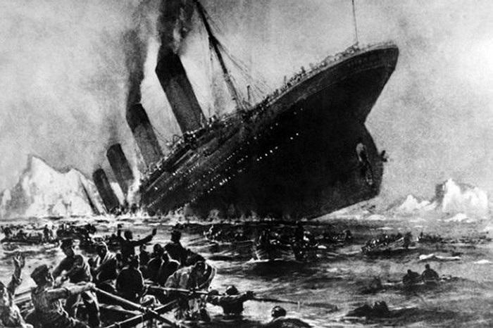 Vụ đắm tàu Titanic (Anh) nổi tiếng nhất lịch sử xảy ra vào ngày 14 và 15/4/1912 khiến 1.514 người chết