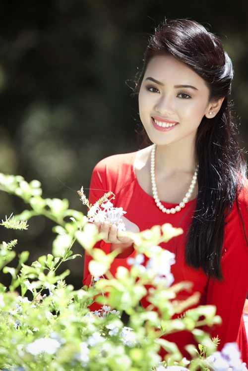 Nữ sinh Việt tại Mỹ xinh như người mẫu