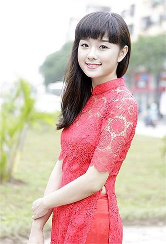 Trong phần trình bày năng khiếu, Thái Thanh Hiền thể hiện bài hát Khúc hát ru con .