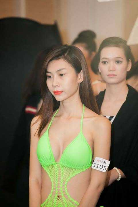 thi sinh chuyen gioi Top Model