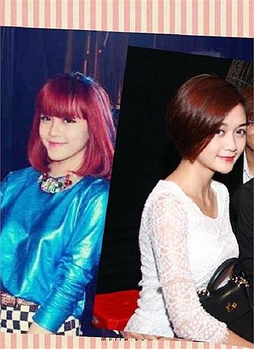 Hai chị em gái Thiều Bảo Trang và Thiều Bảo Trâm.
