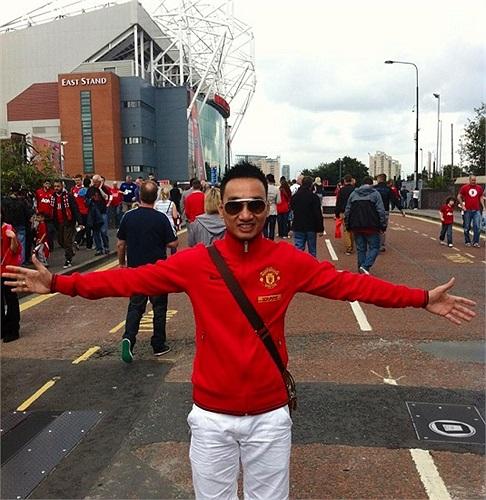 MC Thành Trung và niềm đam mê bóng đá.
