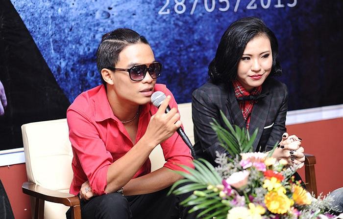 Dương Trường Giang và Nguyễn Khánh Phương Linh chia sẻ về sản phẩm đầu tay.