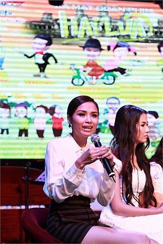 Trong phim 'Hai lúa', Diễm Hương sẽ vào vai cô gái người Camupchia có điệu múa khiến nhân vật của Trấn Thành phải xiêu lòng.