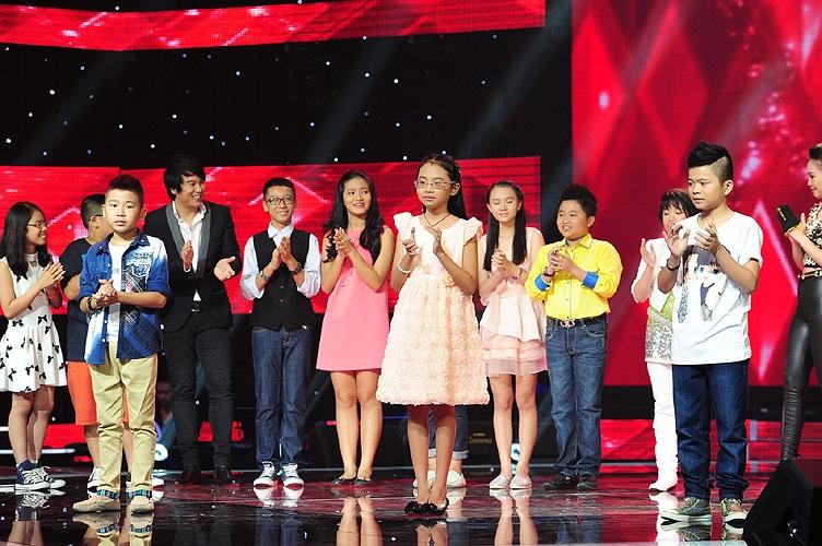 Trong đêm công bố kết quả Top 9, Phương Mỹ Chi, Quang Anh, Ngọc Duy đi tiếp vào liveshow 4 với số bình chọnáp đảo từ khán giả.