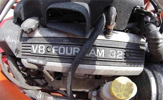 Động cơ V8 3.200 mã lực.(Ảnh: TTVH)