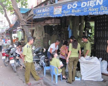 cảnh phục còng số 8, bắt giữ, Hà Nội, cảnh sát, quân đội