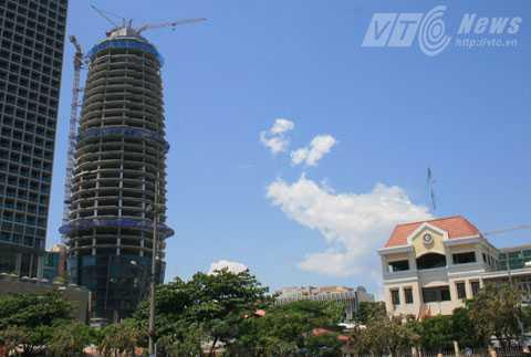 tai nạn lao động, Tòa nhà trung tâm hành chính Đà Nẵng, rơi từ tầng cao