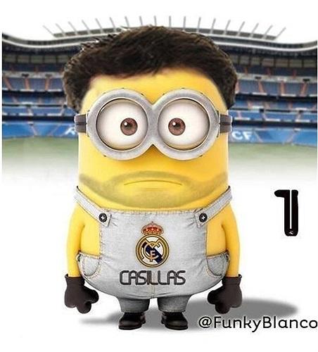 Iker Casillas nhìn già dặn hơn hẳn các đồng nghiệp