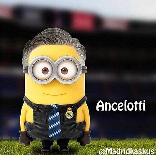 Tài tử kiểu Ancelotti