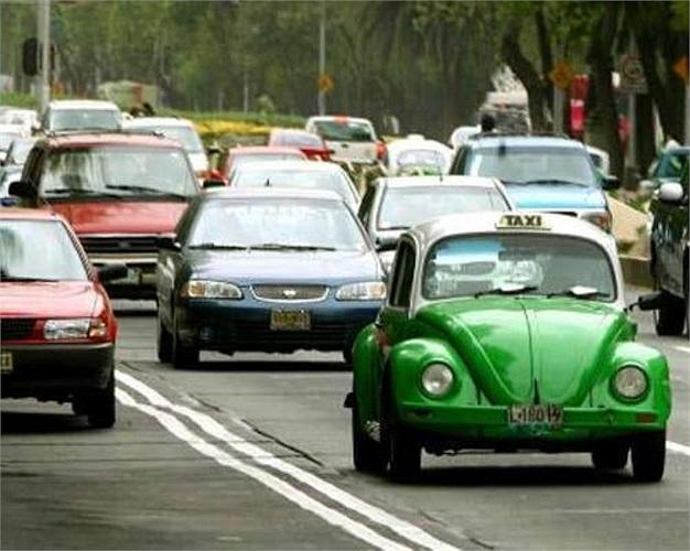 3.Tại thủ đô Mexico City, Mexico, chỉ với 12,2 Đô La Sing (khoảng gần 206.000 đồng), bạn có thể đi taxi với quãng đường 46,564km