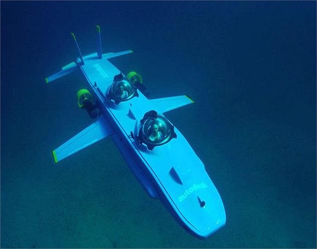 Eclipse được trang bị hệ thống phòng vệ tối tân, đủ sức đối chọi với bất cứ du thuyền nào trên biển, ví dụ như chiếc tàu lặn mini có thể lặn tới độ sâu gần 46m.