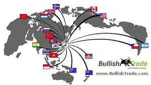 """Trong """"bản đồ"""" của Bullish Trade, mạng lưới có giao dịch tiền ảo LR, có thể hiện Việt Nam"""
