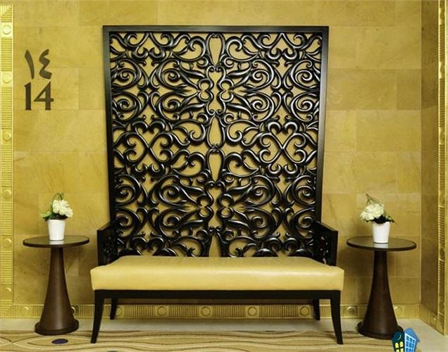 Nội thất trong các căn phòng lấy cảm hứng từ nét đẹp văn hóa địa phương.