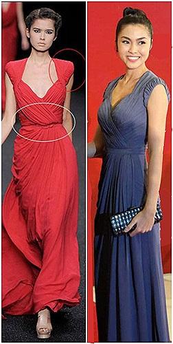 Nhiều nhận định hai chiếc váy trên là tác phẩm của anh.