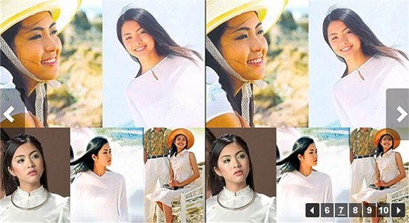 Cũng trong năm này, Tăng Thanh Hà tham gia vai Mộng Cầm trong bộ phim 'Hàn Mặc Tử'.
