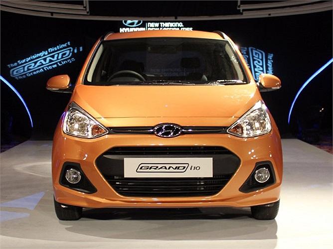 Nhỏ và rẻ, dòng xe mới i10 Grand của Hyundai có gì?