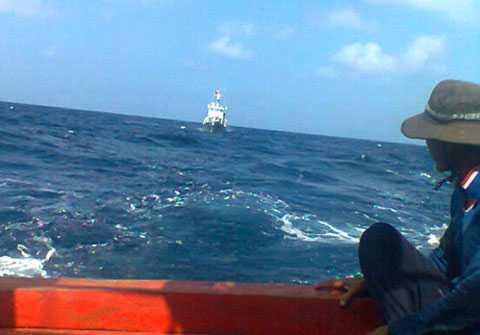 Việt Nam, tàu cá, ngư dân, khống chế, Trung Quốc
