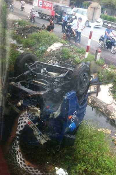 quốc lộ 5, tai nạn tàu hỏa, xe tải, thoát chết hy hữu