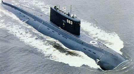 Tàu ngầm lớp Kilo của quân đội Nga