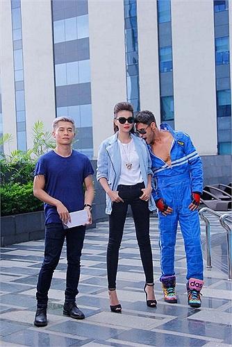Bộ tam quyền lực của Vietnam's Next Top Model.
