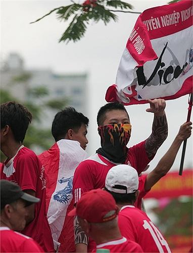 Một fan rất 'ngầu' (Theo infonet)