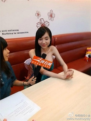 Người đẹp vừa có chuyến công tác tại Thượng Hải.