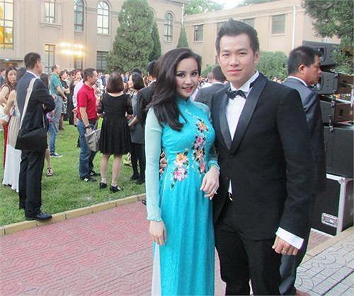 Vy Oanh cùng Hồ Trung Dũng tham dự khá nhiều sự kiện ở nơi đây.
