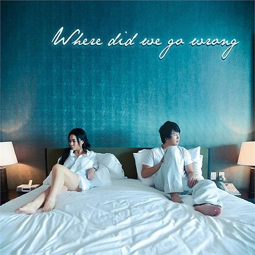 Hình ảnh Thu Minh 'lên giường' với nhạc sĩ Thanh Bùi trong MV mới của cô.