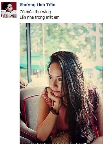 Phương Linh: có mùa thu vàng, lăn nhẹ trong mắt em.