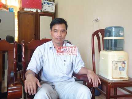 Ông Lăng Văn Hải – bí thư Đảng ủy xã Ba Vì