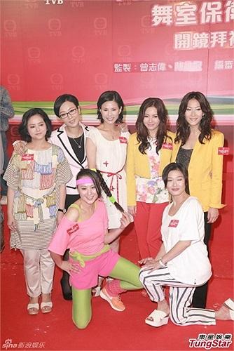 Các nữ diễn viên trong bộ phim Aerobic Girls.