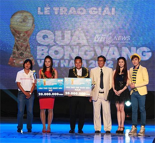 Người cùng vinh dự với Phi Sơn còn có nữ tuyển thủ Chương Thị Kiều của TP.HCM