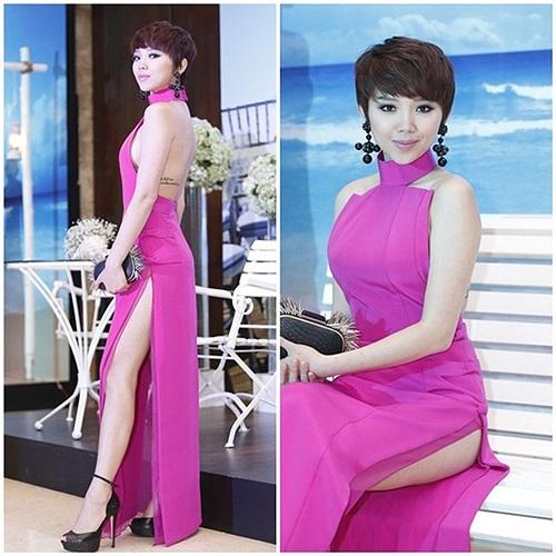 Đặc biệt, Tóc Tiên cũng lột xác khỏi vẻ ngọt ngào trong sáng ngày nào bằng hình ảnh sexy và quyến rũ.