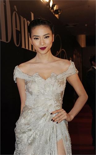 Người mẫu, diễn viên Ngô Thanh Vân.