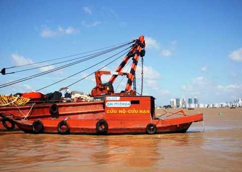 TP.HCM, sông Sài Gòn, xà lan, tàu, tai nạn, Thanh Liêm 09
