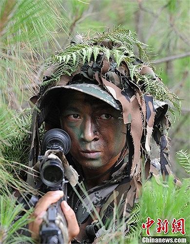 Cuộc tập luyện diễn ra ở căn cứ huấn luyện của quân khu Thành Đô, Trung Quốc