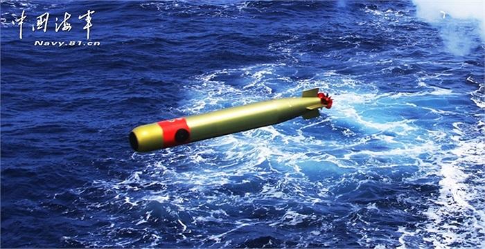 Hình ảnh tàu chiến Trung Quốc phóng ngư lôi, tên lửa chống ngầm trong cuộc diễn tập chống tàu ngầm