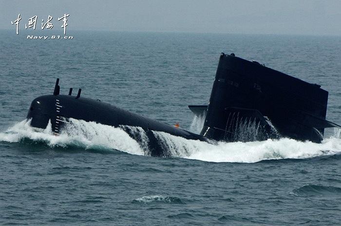 Tân Hoa Xã giới thiệu đây là những tàu ngầm chủ lực của hải quân Trung Quốc