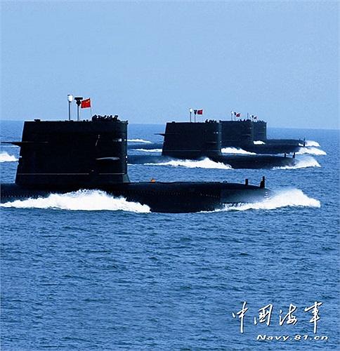 Loạt tàu ngầm của hải quân Trung Quốc