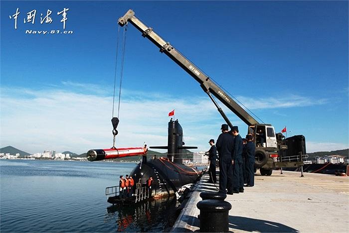 Loạt tàu ngầm chủ lực của hải quân Trung Quốc