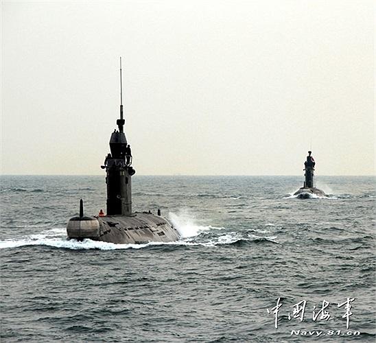 Tàu ngầm chủ lực của hải quân Trung Quốc hay còn gọi là 'sát thủ dưới nước'