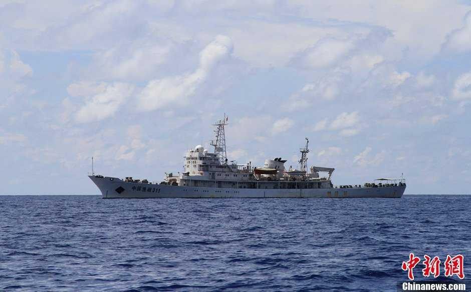 tàu ngư chính trung quốc