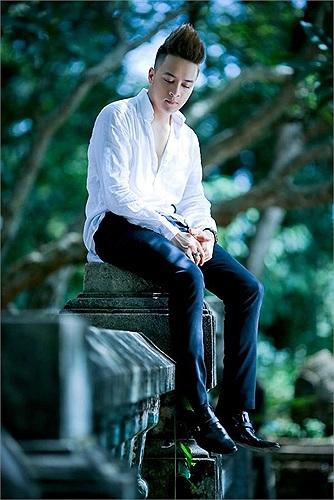 Cao Thái Sơn trong sản phẩm âm nhạc mới.
