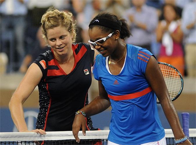 Năm ngoái tại Mỹ mở rộng, Duval đã thất bại trước huyền thoại Kim Clijsters.