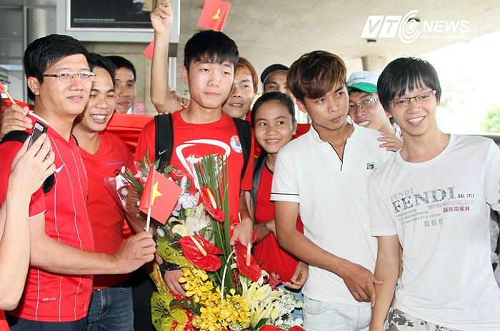 Lương Xuân Trường đã được ra sân ở phút 50 trong trận gặp U19 Hong Kong.