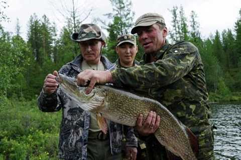 Putin câu cá